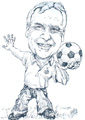 Joe Royle caricature